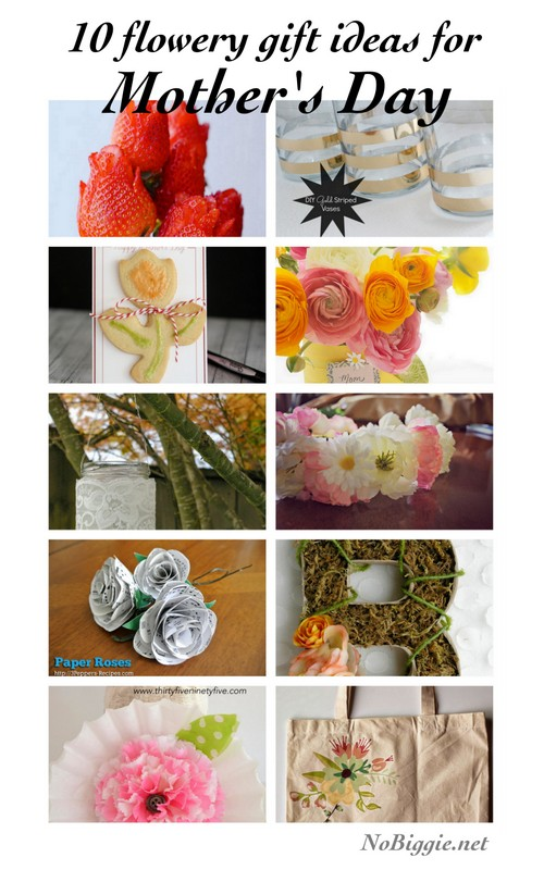 10 DIY flowery gift ideas for Mother's Day