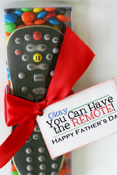 Father's Day Remote Control Cookies | 25+ Fathers Day Gift Ideas