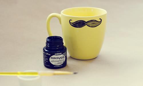Mustache Mug | 25+ Fathers Day Gift Ideas
