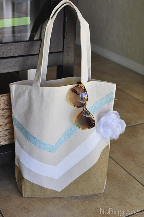 DIY canvas tote tutorial | nobiggie.net