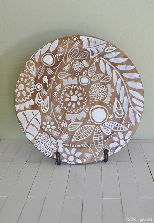 Make it: Affordable Decorative Plate