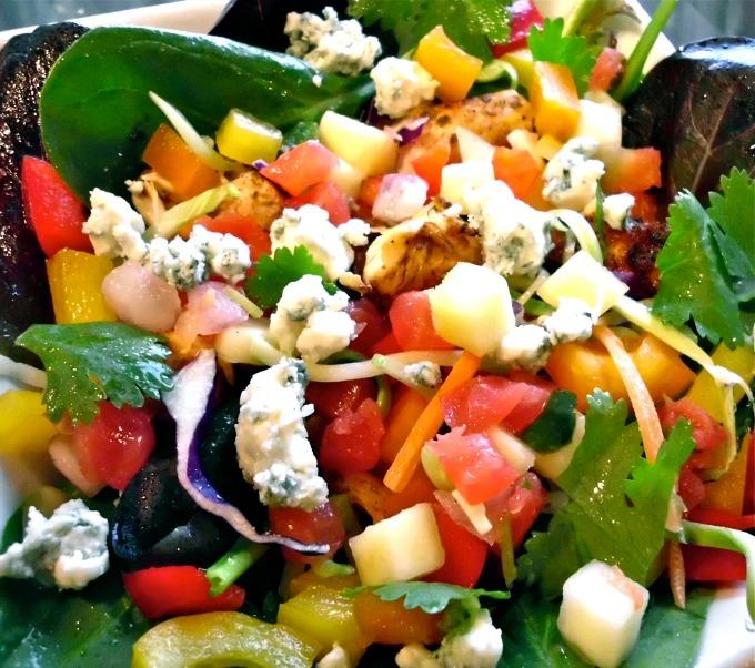 Chicken Mango Salsa salad | 25+ delicious salad recipes
