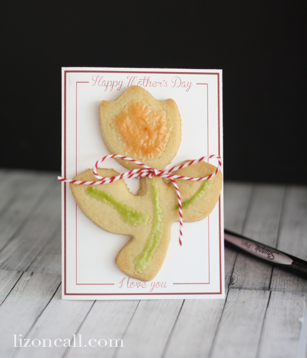 Cookie Card for Mother's Day
