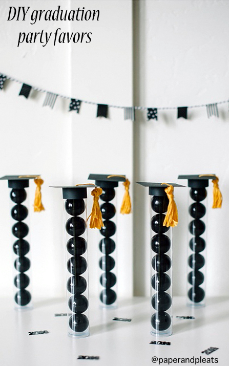DIY Graduation Party Favors