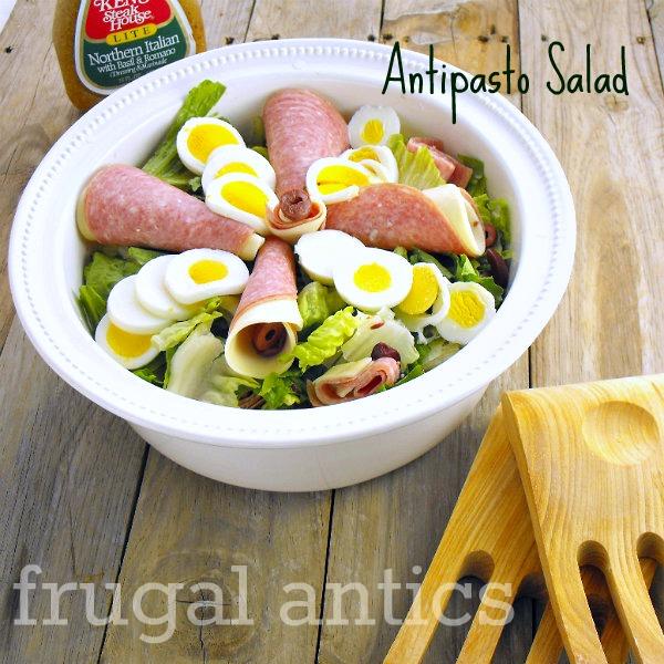 Antipasto Salad | 25+ delicious salad recipes