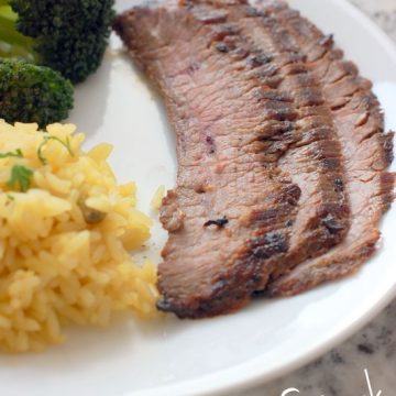 Grilled Flank Steak | 25+ Grilling Recipes