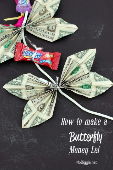 How to Make a Butterfly Money Lei