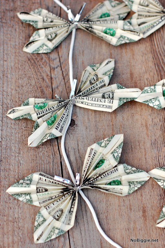 butterfly money lei tutorial | NoBiggie.net