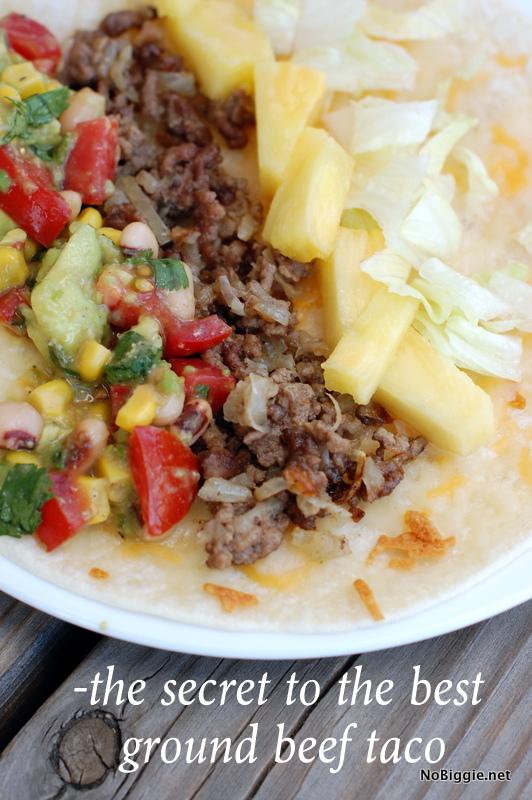 the secret to the best beef taco | NoBiggie.net