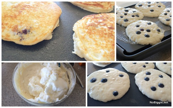 the secret to the best blueberry buttermilk pancakes | NoBiggie.net