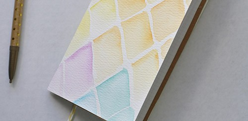 1 watercolor notebook | no biggie.com