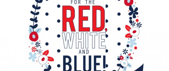 110+ red, white and blue ideas for the 4th of July! | NoBiggie.net
