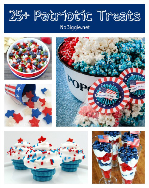 25+ Patriotic Treats | NoBiggie.net