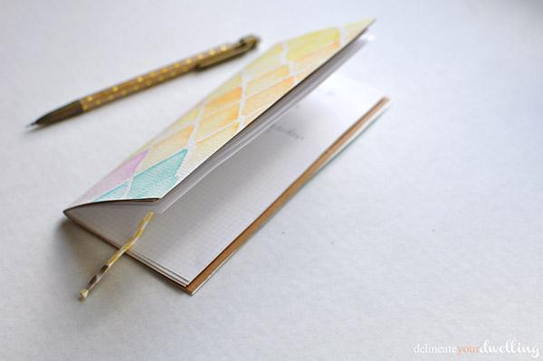 5 watercolor notebook | NoBiggie.net