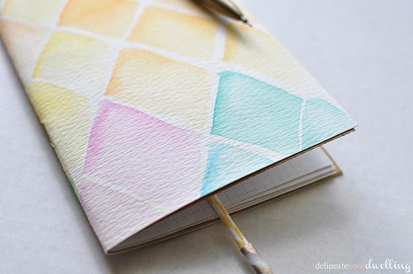 watercolor notebook | NoBiggie.net