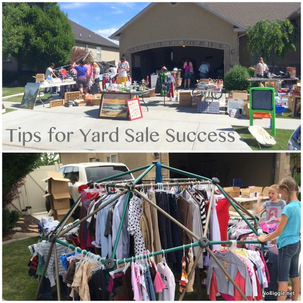 9 yard sale Dos and Don'ts for success