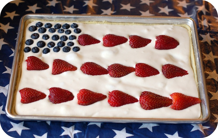 All American Fruit Flag | 25+ Patriotic Treats