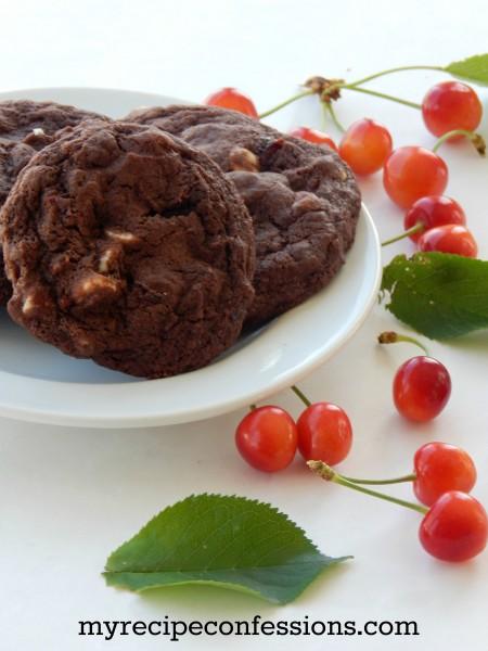 Double-Chocolate Cherry Cookies recipe