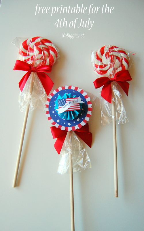 Free Printable | +25 4th of July Party Ideas | NoBiggie.net