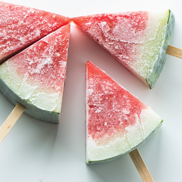 Frozen Watermelon Popsicles | 25+ Desserts on a Stick