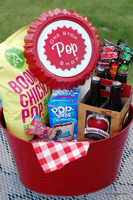 Fun Father's Day gift basket idea | NoBiggie.net