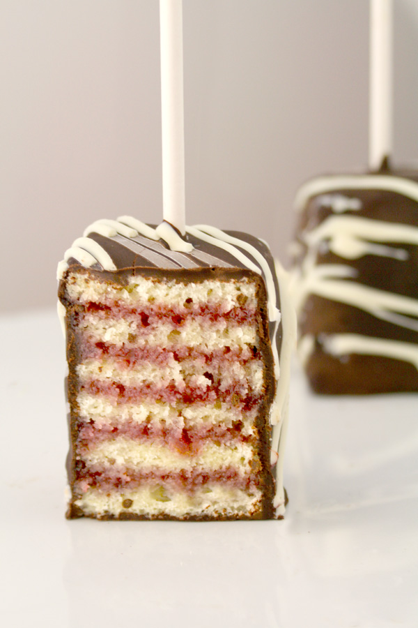 Layered Cake Pop | 25+ Desserts on a Stick