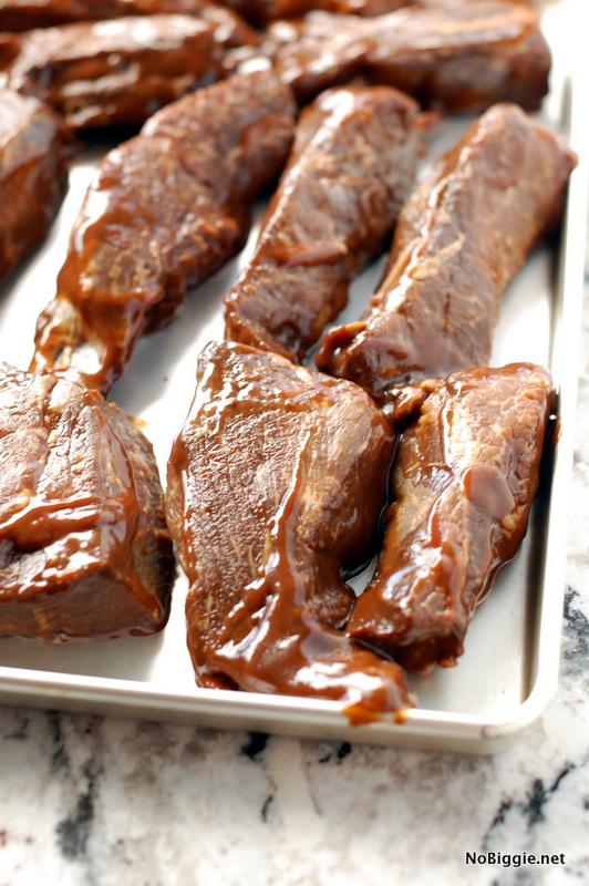 Poor Boy Steak uncooked before grilling | NoBiggie.net