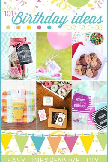 101+ birthday gift ideas (free printables)