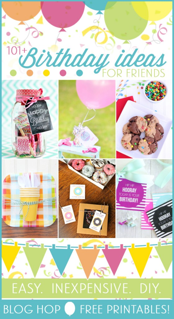 101 free birthday printables and gift ideas