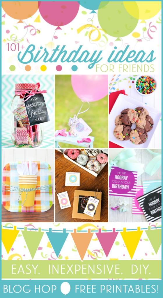 101 Birthday Gift Ideas Free Printables