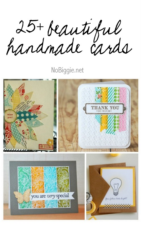 25+ beautiful handmade cards | NoBiggie.net