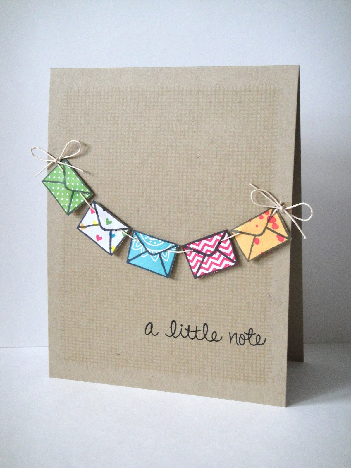 A Little Note Card | 25+ Handmade Cards