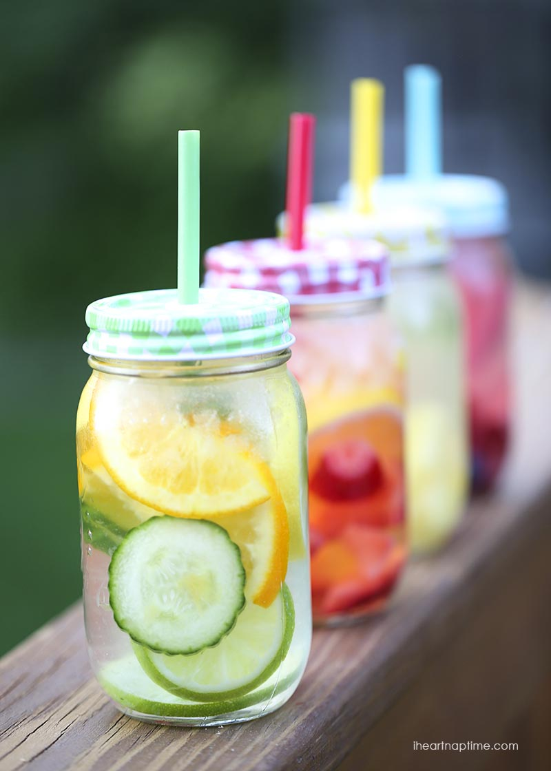 Fruit Infused Water | 25+ Non-Alcoholic Summer Drinks