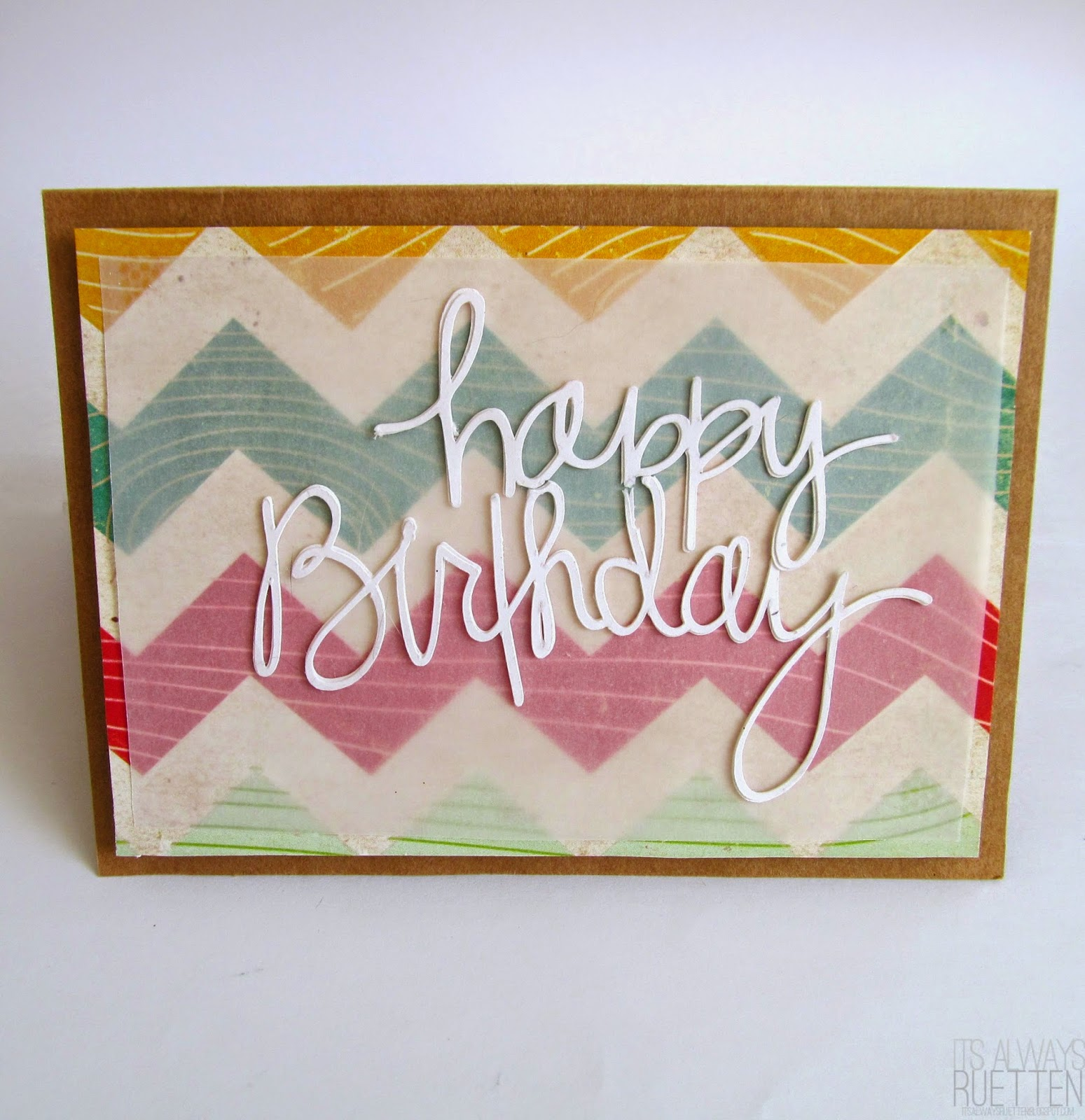 Handmade happy birthday cards for friends