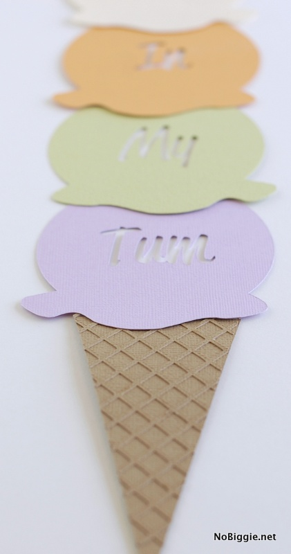 Ice Cream Art paper craft | NoBiggie.net
