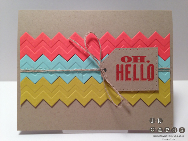 Hello card | 25+ Handmade Cards