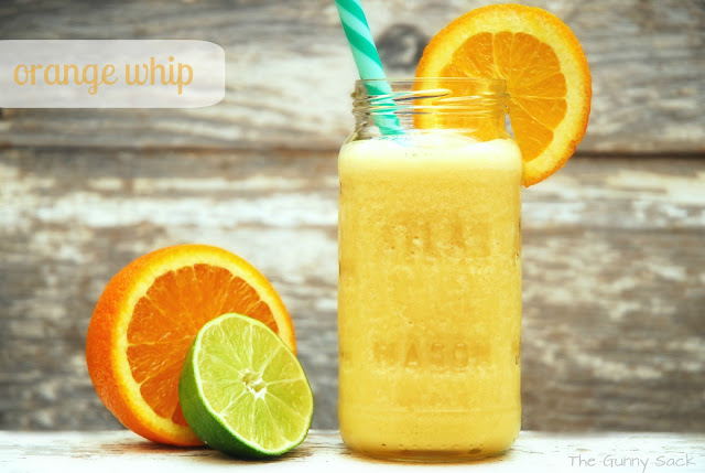 Orange Whip | 25+ Non-Alcoholic Summer Drinks
