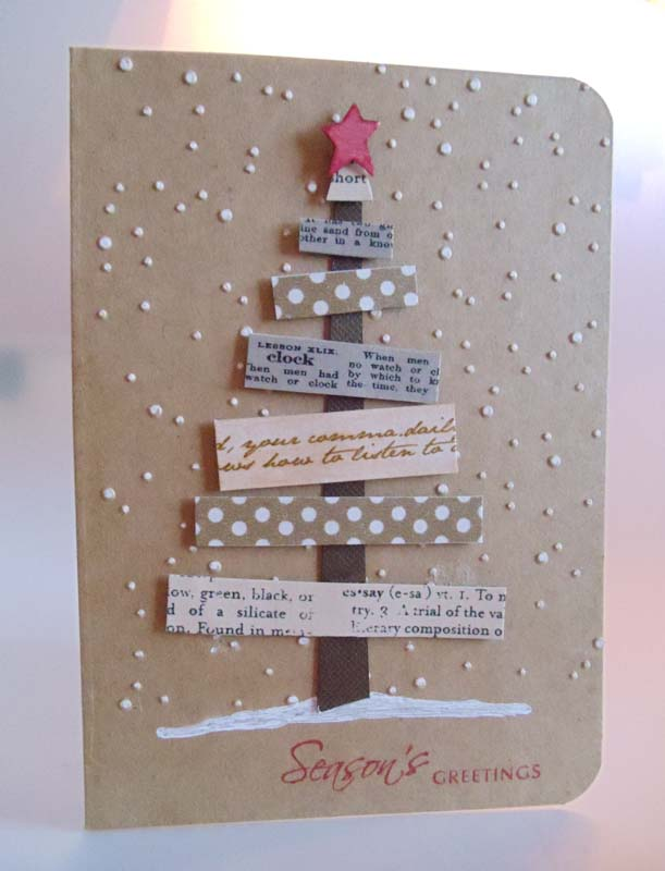 Seasons Greeting Card | 25+ Handmade Christmas Cards