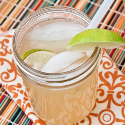 White Grape Lime Summer Punch | 25+ Non-Alcoholic Summer Drinks
