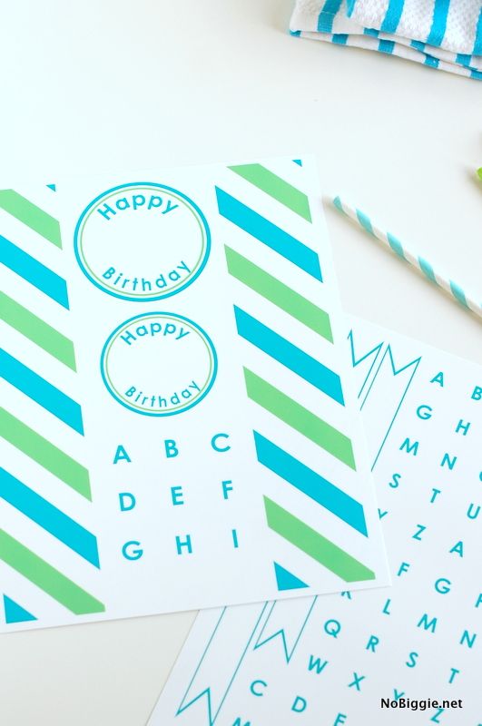 free birthday printable | NoBiggie.net