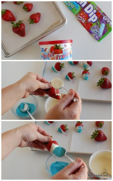 red white and blue berries - how to   NoBiggie.net