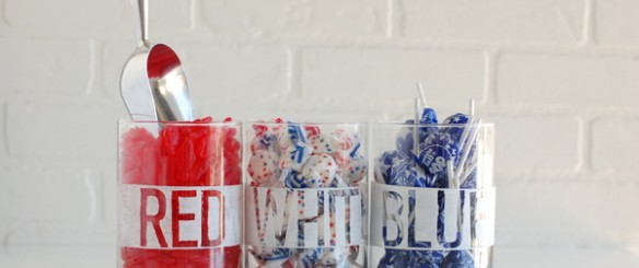 red white and blue candy buffet | NoBiggie.net