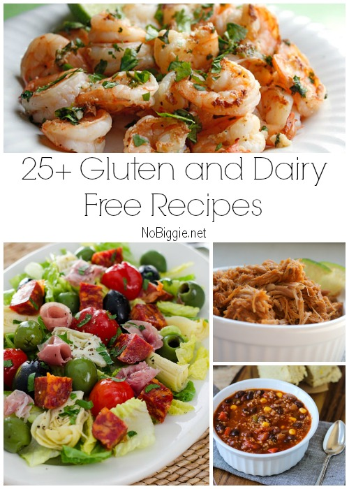 10+ Gluten Free and Dairy Free Recipes  NoBiggie