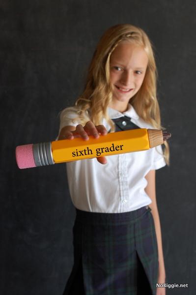 6th grader back to school photos | NoBiggie.net