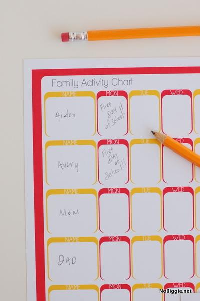 Back to School weekly planners (free printables)