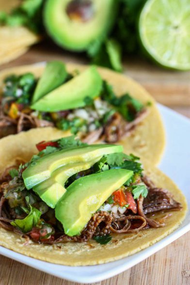 Crock Pot Beef Carnitas | 25+ gluten free and dairy free lunch ideas