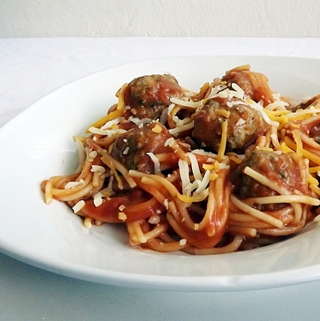 GF Spaghetti and Meatballs | 25+ gluten and dairy free recipes