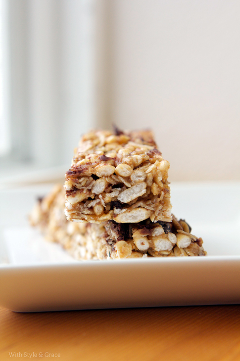 Gluten Free No Bake Breakfast Bars | 25+ gluten free and dairy free breakfast recipes