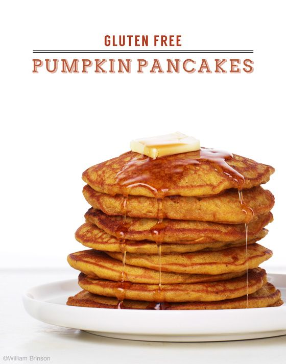 Gluten Free Pumpkin Pancakes | 25+ gluten free and dairy free breakfast recipes