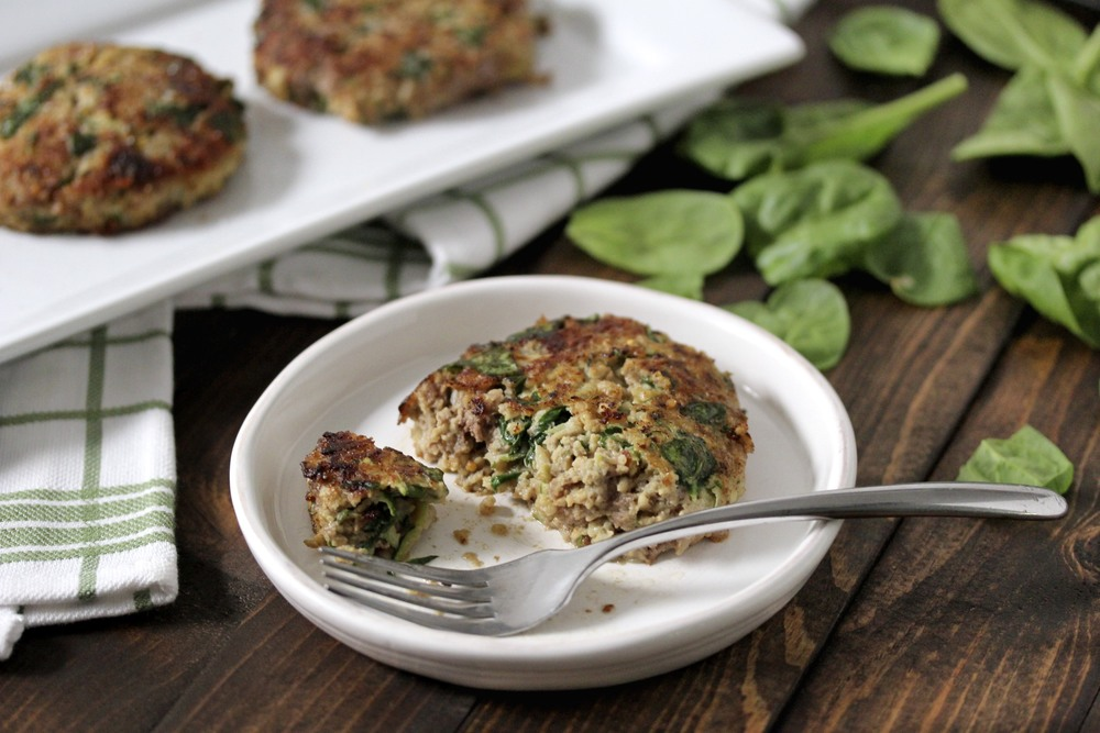Ground Beef Millet Veggie Fritters | 25+ gluten free and dairy free lunch ideas